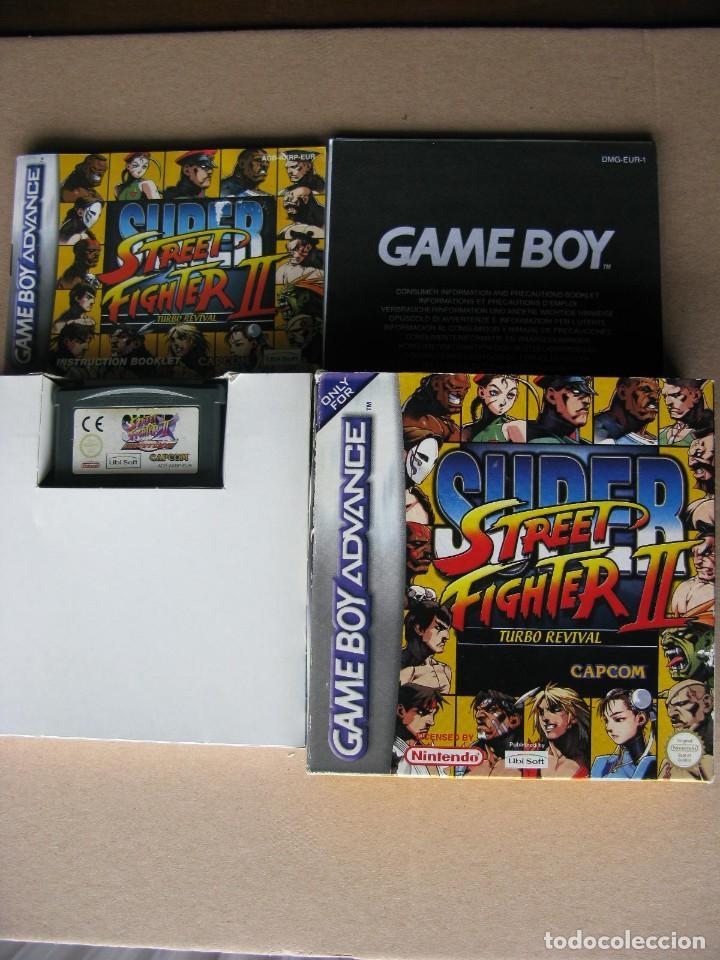 GAME BOY ADVANCE SUPER STREET FIGHTER II (ORIGINAL COMPLETO) (Juguetes - Videojuegos y Consolas - Nintendo - GameBoy Advance)