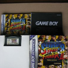 Videojuegos y Consolas: GAME BOY ADVANCE SUPER STREET FIGHTER II (ORIGINAL COMPLETO). Lote 68977321