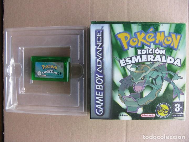 GAME BOY ADVANCE POKEMON EDICION ESMERALDA (ORIGINAL COMPLETO) (Juguetes - Videojuegos y Consolas - Nintendo - GameBoy Advance)
