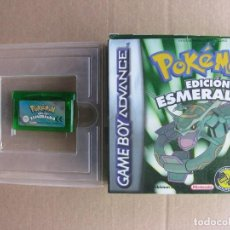 GAME BOY ADVANCE POKEMON EDICION ESMERALDA (ORIGINAL COMPLETO)