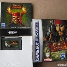 Videojuegos y Consolas: GAME BOY ADVANCE PIRATAS DEL CARIBE EL COFRE DEL HOMBRE MUERTO (ORIGINAL COMPLETO). Lote 68977805