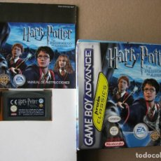 Videojuegos y Consolas: GAME BOY ADVANCE HARRY POTTER Y EL PRISIONERO DE AZKABAN (ORIGINAL COMPLETO). Lote 68977913