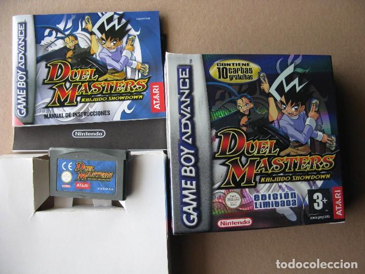 GAME BOY ADVANCE DUEL MASTERS KAIJIDO SHOWDOWN (COMPLETO ORIGINAL) (Juguetes - Videojuegos y Consolas - Nintendo - GameBoy Advance)