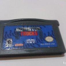 Videojuegos y Consolas: MONSTER TRUCKS NINTENDO GAMEBOY GAME BOY ADVANCE USA.. Lote 70060841
