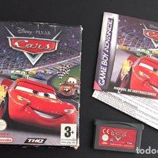 Videojuegos y Consolas: JUEGO NINTENDO GAME BOY GAMEBOY ADVANCE CARS DISNY PIXAR. Lote 72279099