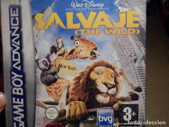 JUEGO PARA CONSOLA - GAME BOY ADVANCE - SALVAJE - THE WILD - AGB P BWLP - CON PRECINTO (Juguetes - Videojuegos y Consolas - Nintendo - GameBoy Advance)