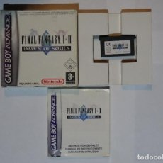 Videojuegos y Consolas: JUEGO PARA NINTENDO GAME BOY ADVANCE FINAL FANTASY I & II DAWN OF SOULS ADVANCE ED. ESPAÑOLA. Lote 74467079