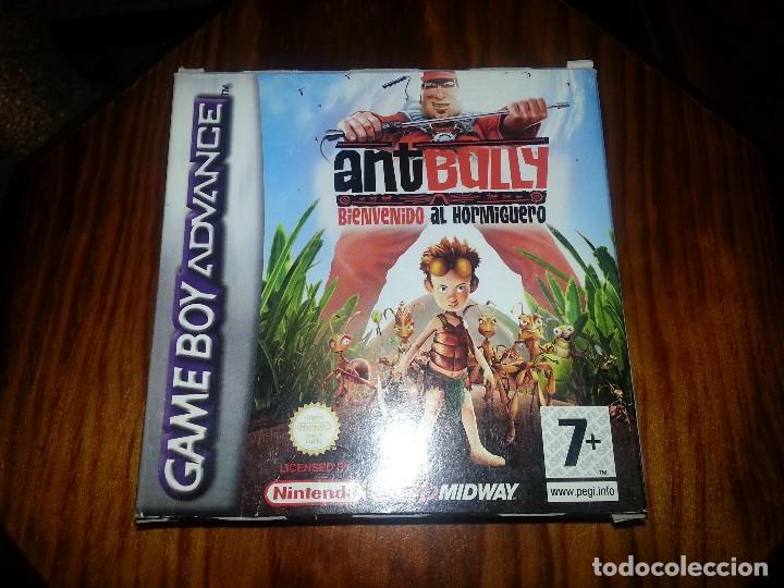 ANT BULLY - COMPLETO - GAME BOY ADVANCE- ANTBULLY (Juguetes - Videojuegos y Consolas - Nintendo - GameBoy Advance)