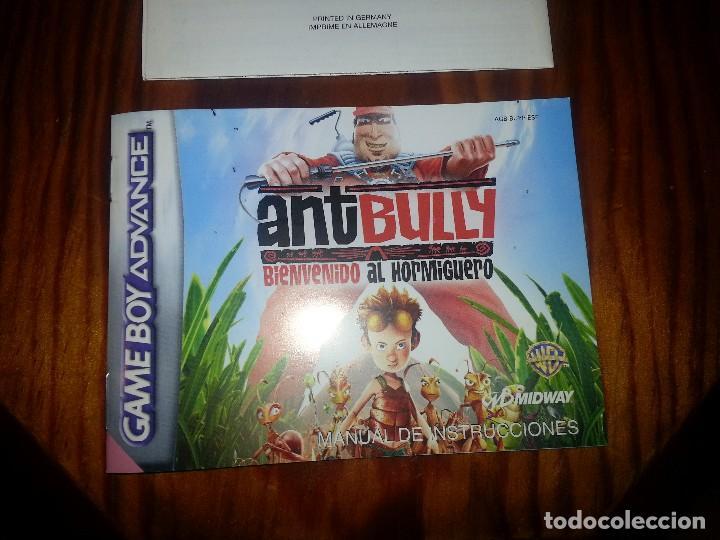 Videojuegos y Consolas: Ant Bully - Completo - Game Boy Advance- Antbully - Foto 3 - 76495683