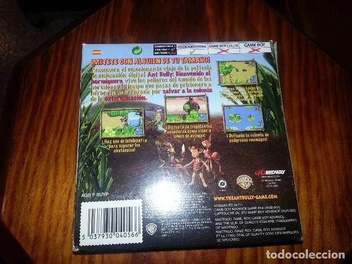 Videojuegos y Consolas: Ant Bully - Completo - Game Boy Advance- Antbully - Foto 5 - 76495683