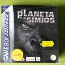 Videojuegos y Consolas: EL PLANETA DE LOS SIMIOS GAMEBOY ADVANCE PRECINTADO. Lote 76509646