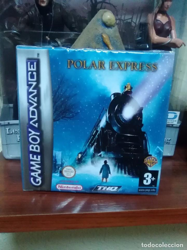 POLAR EXPRESS - GAME BOY ADVANCE - GBA - NUEVO Y PRECINTADO - THQ - WARNER BROS (Juguetes - Videojuegos y Consolas - Nintendo - GameBoy Advance)