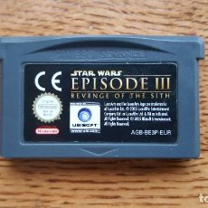 Videojuegos y Consolas: GAME BOY ADVANCE STAR WARS EPISODE III. Lote 77877669