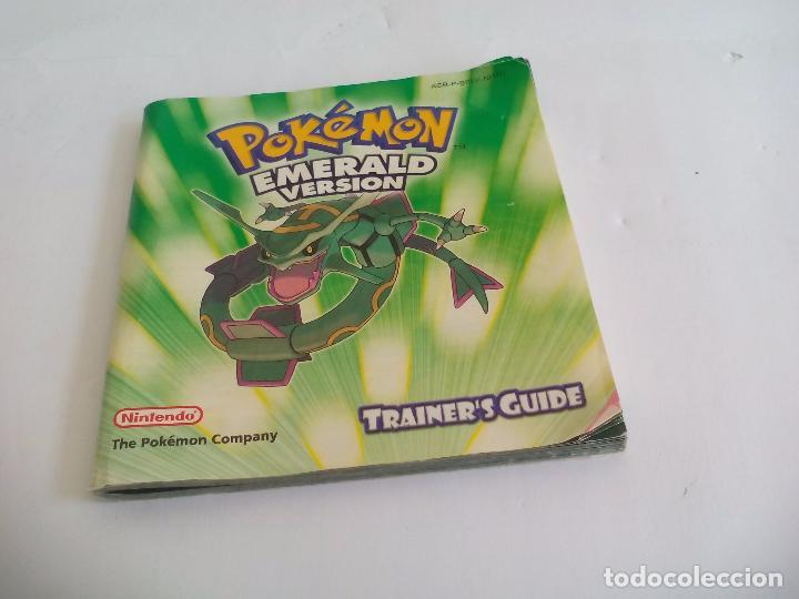 pok mon emerald version manual de instrucciones comprar rh todocoleccion net pokemon emerald instruction manual Pokemon Pearl