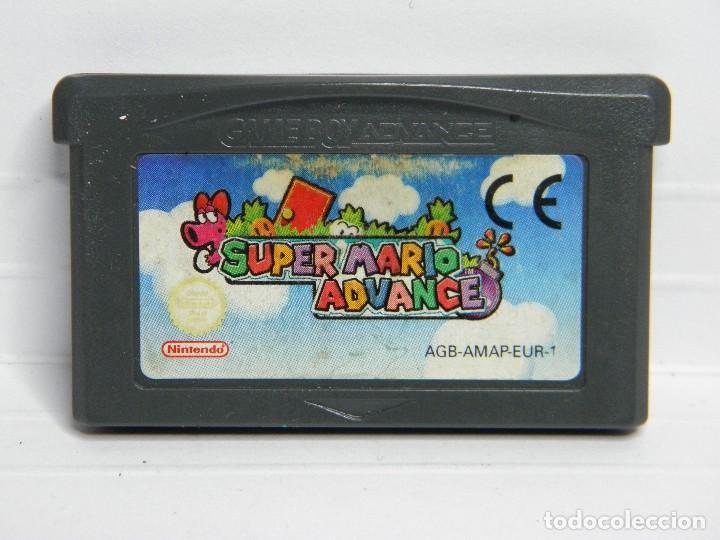 SUPER MARIO GAMEBOY ADVANCE (Juguetes - Videojuegos y Consolas - Nintendo - GameBoy Advance)