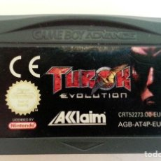 Videojuegos y Consolas: TUROK EVOLUTION PAL GAME BOY GAMEBOY ADVANCE. Lote 83371404