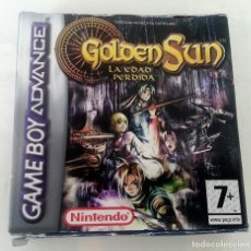 Videojuegos y Consolas: GOLDEN SUN 2 LA EDAD PERDIDA PAL ESP GAME BOY GAMEBOY ADVANCE. Lote 83373592