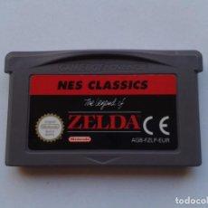 Videojuegos y Consolas: JUEGO GAME BOY ADVANCE GBA THE LEGEND OF ZELDA NES CLASSICS MAGNIFICO ESTADO PAL R6082. Lote 85034096