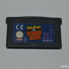 Videojuegos y Consolas: JUEGO DE GAME BOY ADVANCE MARIO VS DONKEY KONG NINTENDO GAMEBOY. Lote 85918192