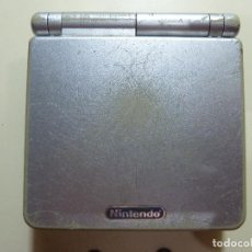 CONSOLA GAME BOY ADVANCE SP COLOR PLATA