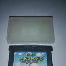 Videojuegos y Consolas: JUEGO SUPER MARIO WORLD + SUPER MARIO ADVANCE 2 DE GAME BOY ADVANCE GAMEBOY NINTENDO PFS. Lote 87071932