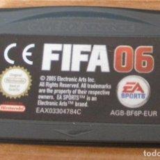 Videojuegos y Consolas: FIFA 06 - VIDEOJUEGO - GAMEBOY ADVANCE - GBA. Lote 87276716