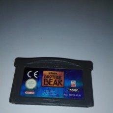 Videojuegos y Consolas: JUEGO DE GAMEBOY ADVANCE BROTHER BEAR HERMANO OSO NINTENDO GAME BOY. Lote 88293036