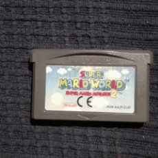 Videojuegos y Consolas: SUPER MARIO WORLD Y MARIO BROS 2 JUEGOS NINTENDO GAME BOY ADVANCE Y DS SUPER MARIO ADVANCE 2. Lote 90212724