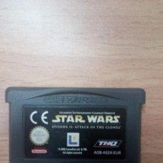 Videojuegos y Consolas: STAR WARS EPISODIO 2 II EL ATAQUE DE LOS CLONES - GBA - GAME BOY ADVANCE PAL ESP. Lote 91348475
