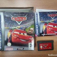 Videojuegos y Consolas: CARS - GBA GAME BOY ADVANCE - PAL ESP. Lote 91392835