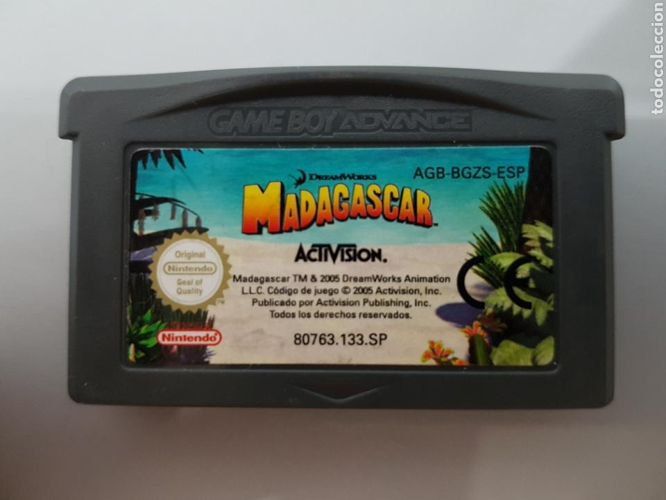 MADAGASCAR GAME BOY ADVANCE SP (GBA) (Juguetes - Videojuegos y Consolas - Nintendo - GameBoy Advance)