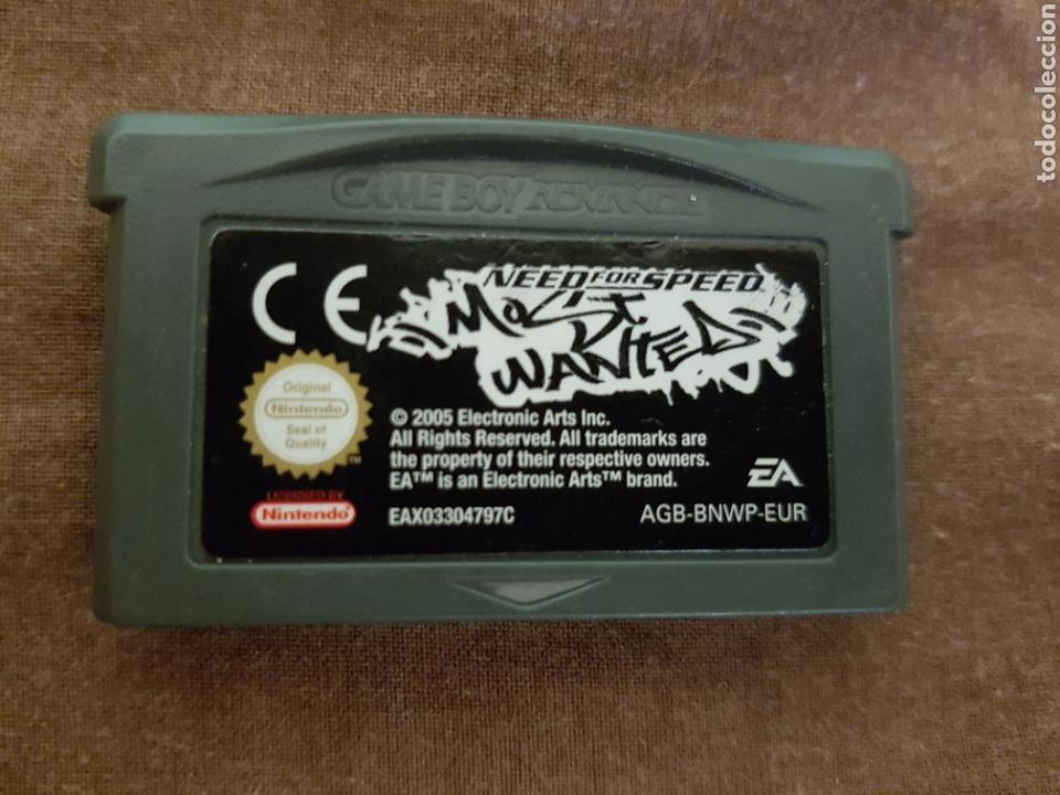 NEED FOR SPEED MOST WANTED GAME BOY ADVANCE SP (GBA) (Juguetes - Videojuegos y Consolas - Nintendo - GameBoy Advance)