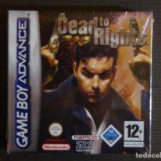 Videojuegos y Consolas: JUEGO NINTENDO ADVANCE DEAD TO RIGHTS. Lote 97000791