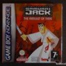 Videojuegos y Consolas: JUEGO NINTENDO ADVANCE SAMURAI JACK. Lote 97000939