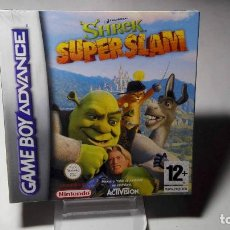 Videojuegos y Consolas: SHREK SUPER SLAM ( GAMEBOY ADVANCE SP - DS LITE ) PRECINTADO!. Lote 97775779