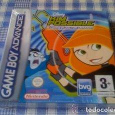 Videojuegos y Consolas: DISNEY´S KIM POSSIBLE GAMEBOY ADVANCE GBA Y DS COMPLETO VERSIÓN ESPAÑOLA - GB NDS PRECINTADO. Lote 97969339