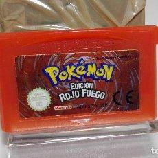 Videojuegos y Consolas: POKEMON EDICION ROJO FUEGO ( PILA OK)( GAMEBOY ADVANCE - SP). Lote 98079323