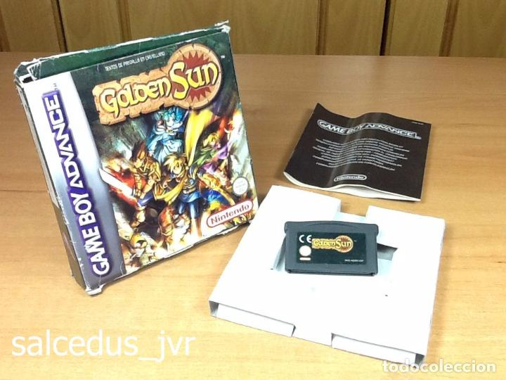 Golden Sun Juego Para Nintendo Gameboy Game Boy Comprar