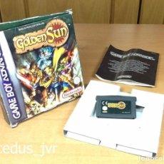 Videojuegos y Consolas: GOLDEN SUN JUEGO PARA NINTENDO GAMEBOY GAME BOY ADVANCE GBA CON CAJA VERSIÓN ESPAÑOLA. Lote 98177219