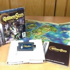 Videojuegos y Consolas: GOLDEN SUN LA EDAD PERDIDA JUEGO PARA NINTENDO GAMEBOY ADVANCE GBA COMPLETO ESPAÑA. Lote 98177259