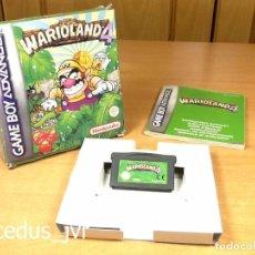 Videojuegos y Consolas: WARIOLAND 4 WARIO LAND JUEGO PARA NINTENDO GAMEBOY ADVANCE GBA COMPLETO ESPAÑA. Lote 98177375