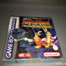 Videojuegos y Consolas: MAGICAL QUEST ( MICKEY * MINNIE) AGB P A3 MP/2002 ( EUROPE) NEW PRECINTED/OLD STOCK. Lote 98210655