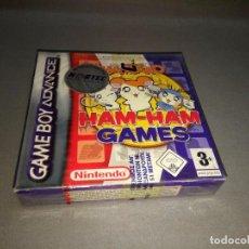 Videojuegos y Consolas: HAMTARO - HAM HAM GAMES - GAME BOY ADVANCE - AGB P B85P /EUR /2004 NEW/OLD STOCK. Lote 98211095