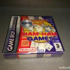 Videojuegos y Consolas: HAMTARO - HAM HAM GAMES - GAME BOY ADVANCE - AGB P B85P /EUR /2004 NEW Nº 2. Lote 98211283