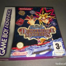 Videojuegos y Consolas: YU GI UH - DUNGEONDICE MONSTERS GAME BOY -ADAVANCE- AGBPAYDP / EUR /96 /NEW/OLD STOCK. Lote 98232871