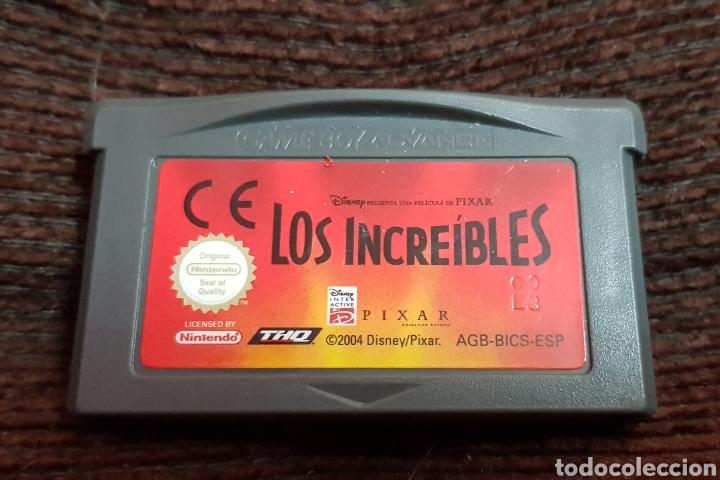 JUEGO LOS INCREÍBLES NINTENDO GAMEBOY ADVANCE (Juguetes - Videojuegos y Consolas - Nintendo - GameBoy Advance)