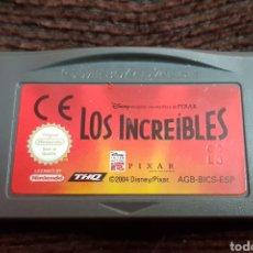 Videojuegos y Consolas: JUEGO LOS INCREÍBLES NINTENDO GAMEBOY ADVANCE. Lote 100081946