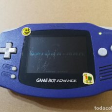 Videojuegos y Consolas: CONSOLA GAMEBOY GAME BOY ADVANCE DE COLOR AZUL CON JUEGO SPIDERMAN. Lote 100734243