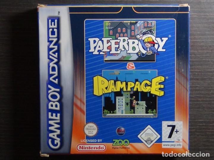 Juego Nintendo Gameboy Advance Rampage Pape Comprar
