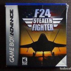 Videojuegos y Consolas: JUEGO NINTENDO GAMEBOY ADVANCE - F 24 STEALTH FIGHTER. Lote 102064579